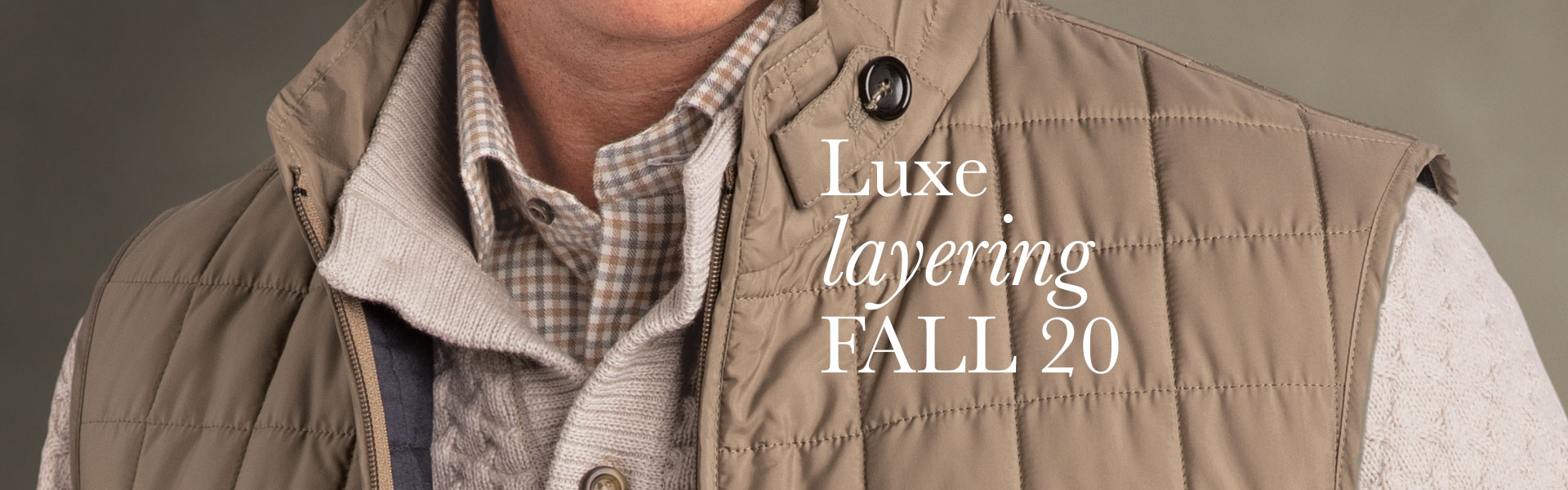 Luxury layering for Fall