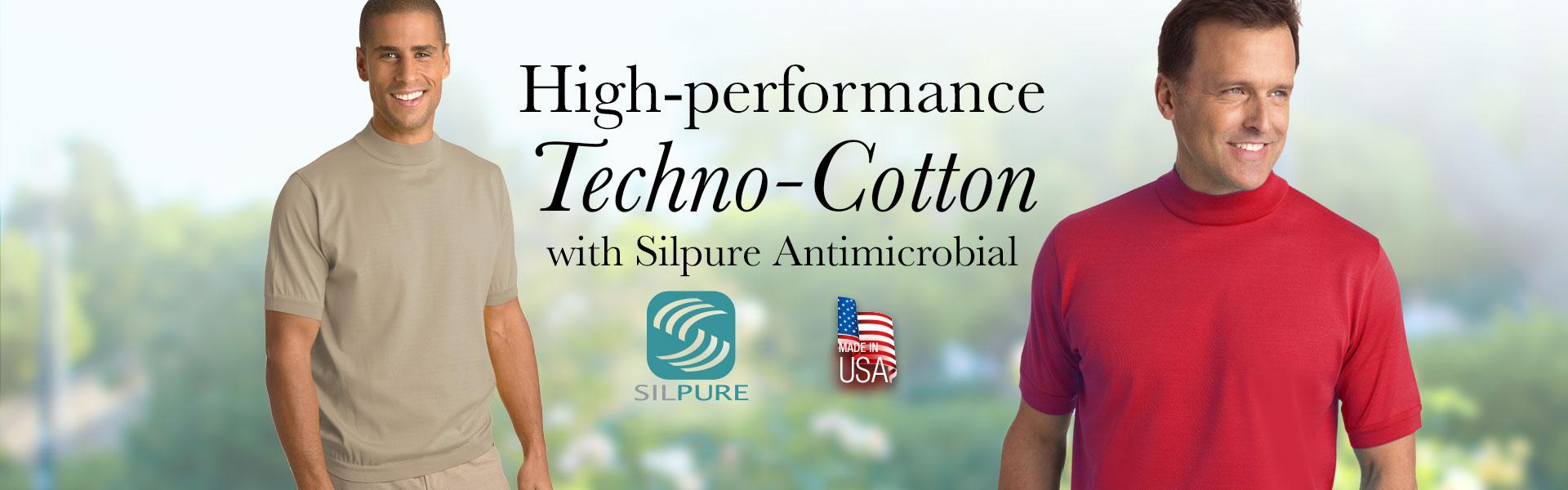 High-performance Mock Turtleneck Shirt