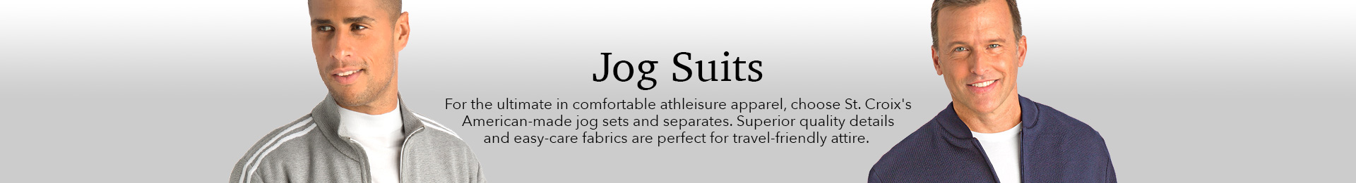 Exceptional, comfortable jog sets, handcrafted in the USA