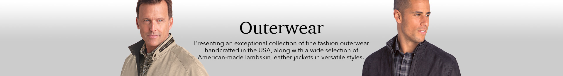 An exceptional collection of fine outerwear